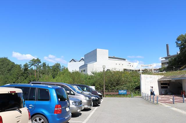 飛騨・世界生活文化センターの外観