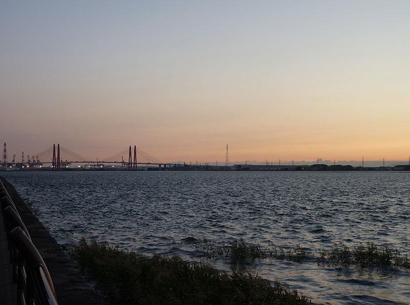 藤前干潟と名港トリトン