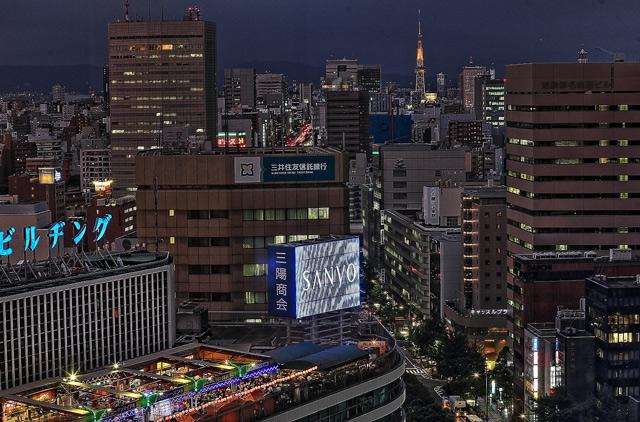 名駅の夜景