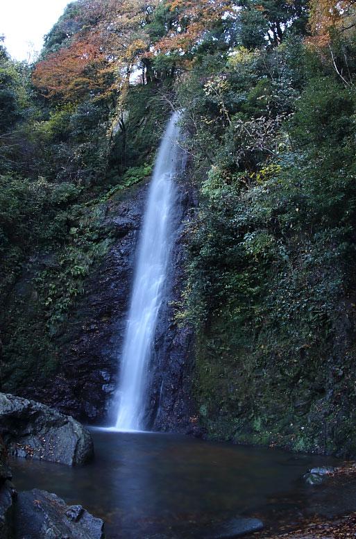 滝(11月下旬ごろ)