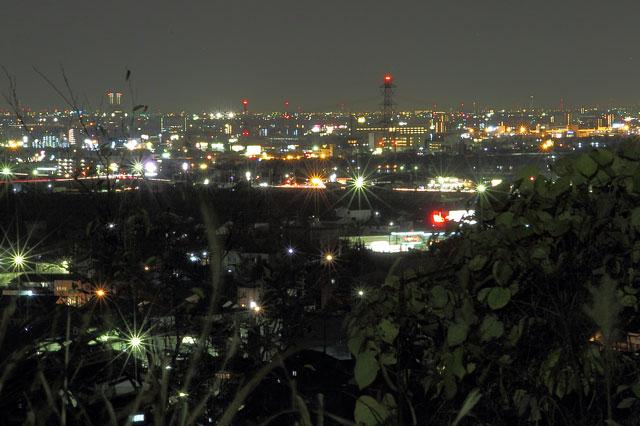 大垣市の夜景