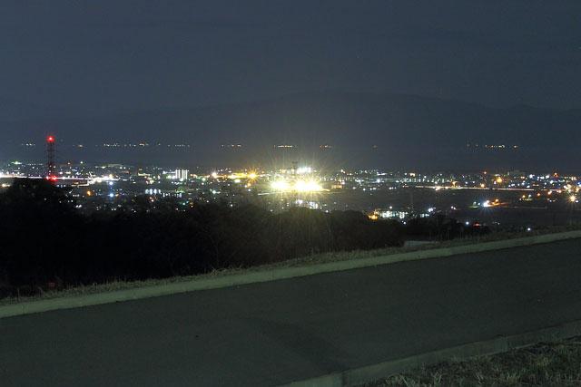 沼津市街の夜景