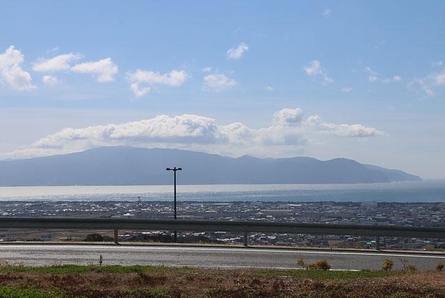 沼津市と駿河湾が一望できます