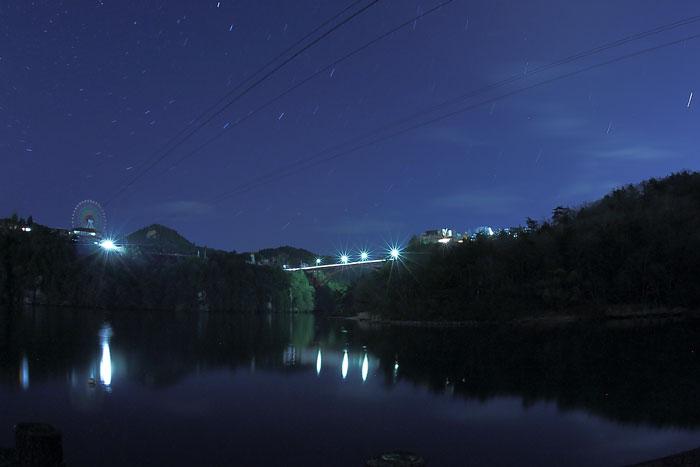 恵那峡ワンダーランドと星空
