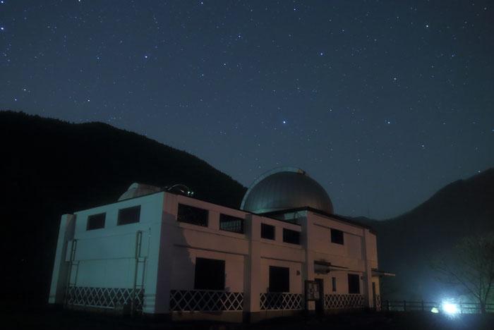 西美濃天文台と星空