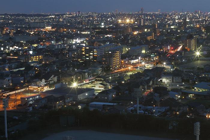 東側の夜景