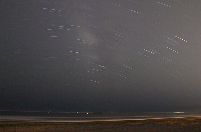 赤羽根ロングビーチの星空