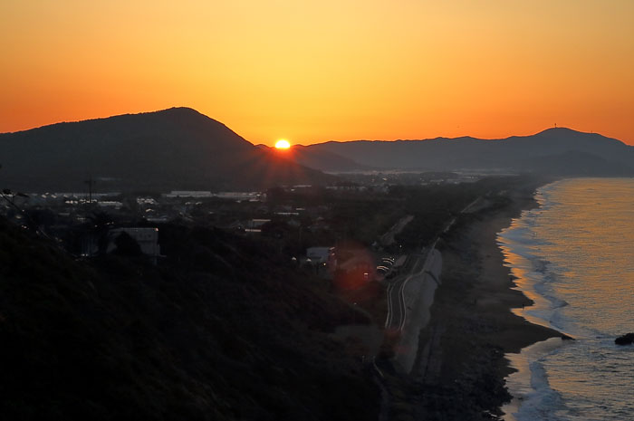 伊良子町と日の出の始まり