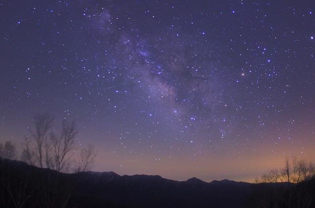 しらびそ高原からの星景写真