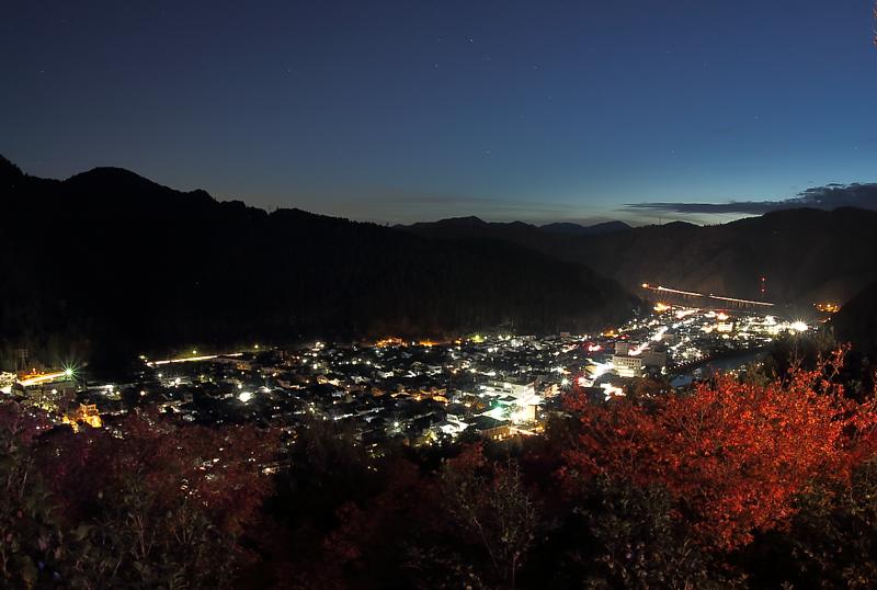 郡上八幡の夜景