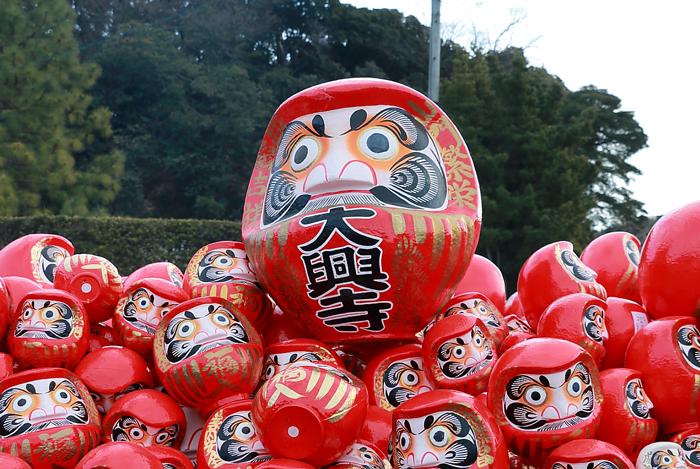 大興寺の大だるま