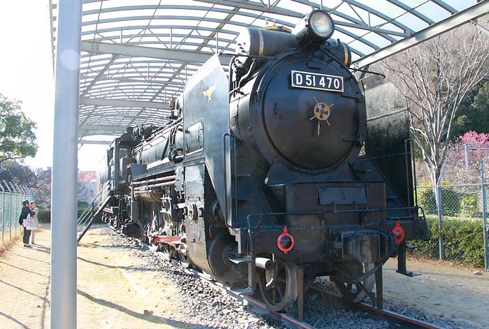梅林D51機関車