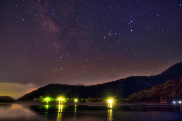 田貫湖の星空