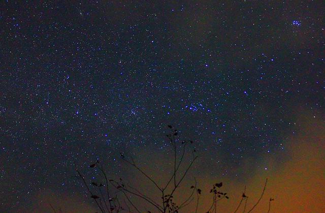 徳山ダムの星空