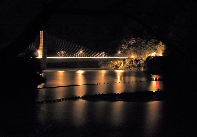 徳山湖の橋梁