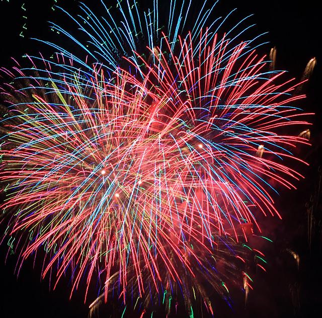 長良川全国花火大会の写真