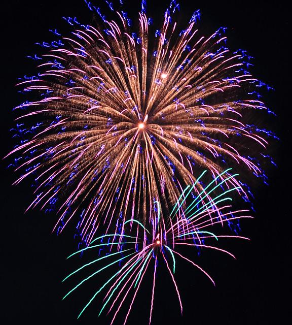 2012年の長良川全国花火大会