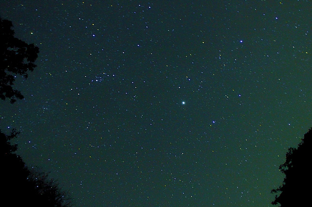 宮妻峡の星空