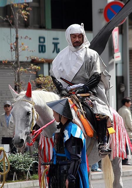 馬に乗った斎藤道三