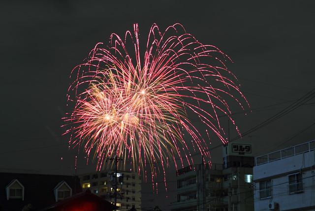 熱田の打ち上げ花火