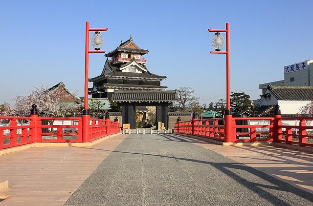 清州城と橋