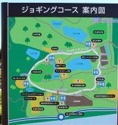 ジョギングコースの案内図