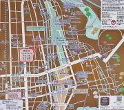 古い町並みの地図