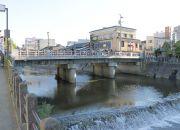 宮川と鍛治橋(かじばし)