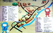 観光マップ(駐車場やトイレの位置)
