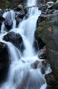 豪快な水の流れ