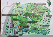 西山公園のマップ