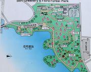 佐布里池梅林の地図