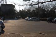 水の生活館近くの駐車場