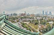 天守閣展望台からの景色(名古屋簡易裁判所方面)
