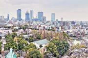 天守閣展望台からの景色(名古屋駅方面)