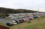 公園内の駐車場