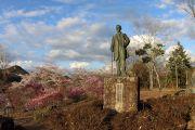 福沢桃介の銅像
