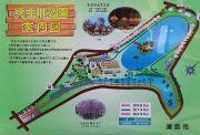 天王川公園の案内図