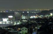名港トリトン方向の夜景