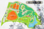 旭公園のマップ