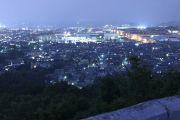 野見山展望台の北側夜景