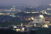 豊田スタジアム全景(望遠レンズ)