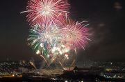 豊田市の夜空を飾るスターマイン