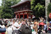 仁王門(パレード開始地点)