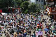 パレードのゴール地点(大須観音)