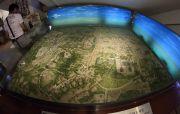 浜松城下町復元模型