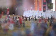 三方ケ原の戦いジオラマ「弓隊」