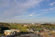 クリスタルフラワー展望デッキからの風景