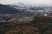 定光寺展望台からの風景