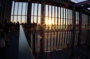 スカイプロムナード2階からの初日の出